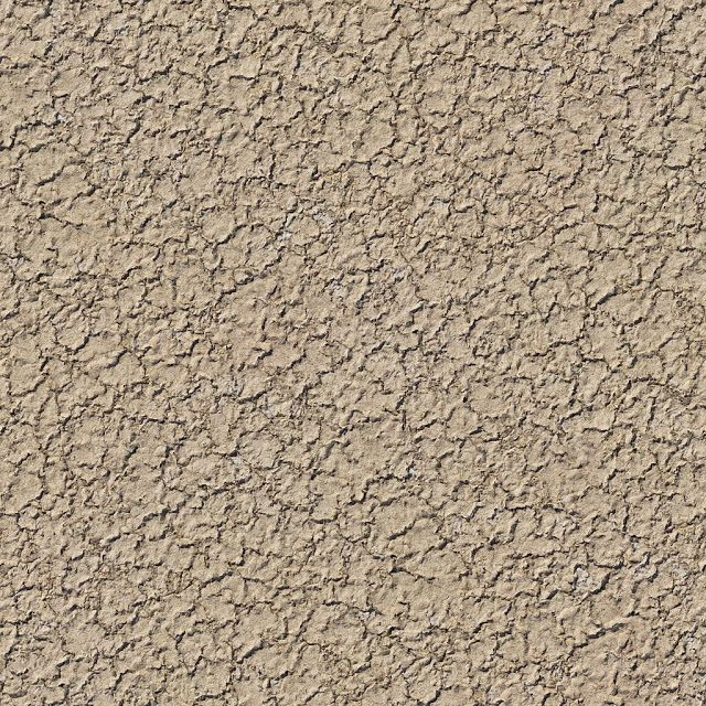 Seamless Cracked Sand Ground Texture + (Maps) | texturise