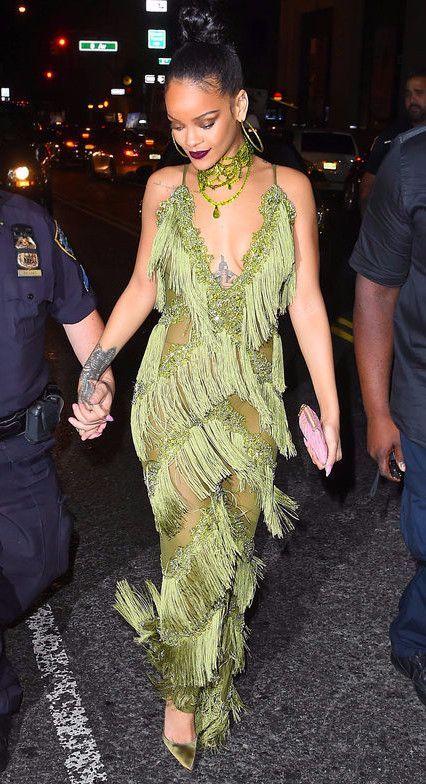 493d96463af Spaghetti strap sheer fringe lace and tassel long jumpsuit as seen on Pop  Artist  Rihanna  and popular fashion blogger  Sydney Fashion Blogger  on  Instagram ...