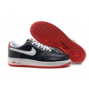 315122 403 Nike Air Force 1 07 Obsidian White Sport Red NAFO141