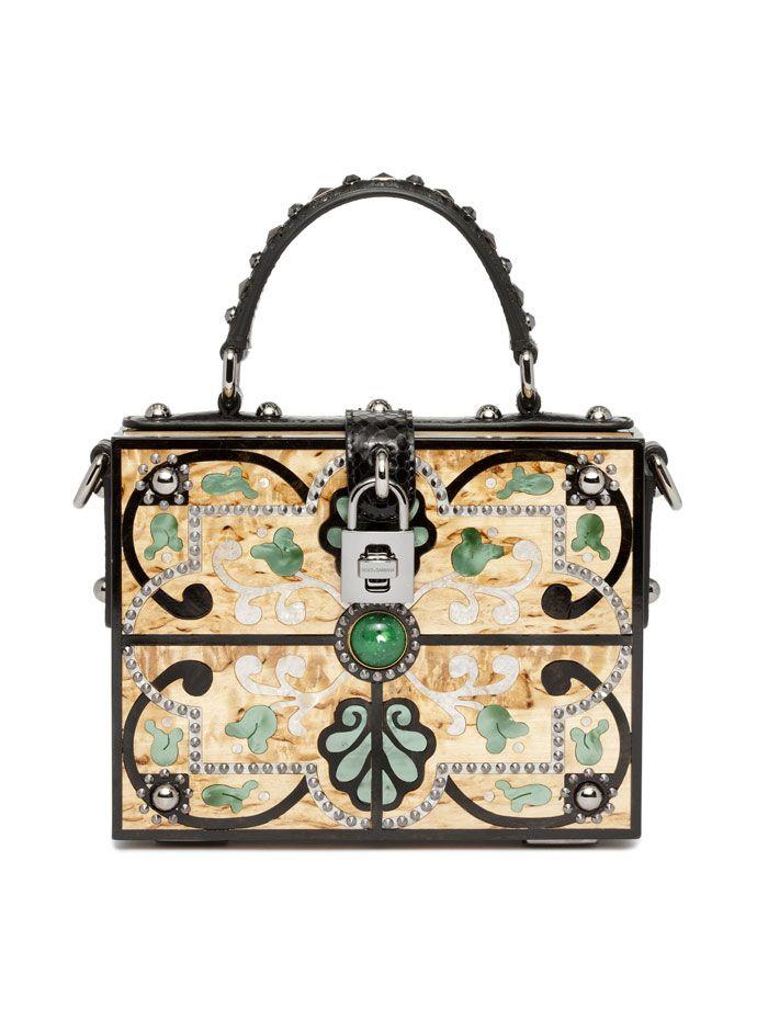 dolce and gabbana intarsia box bags - Google Search  21cdf3c07a489