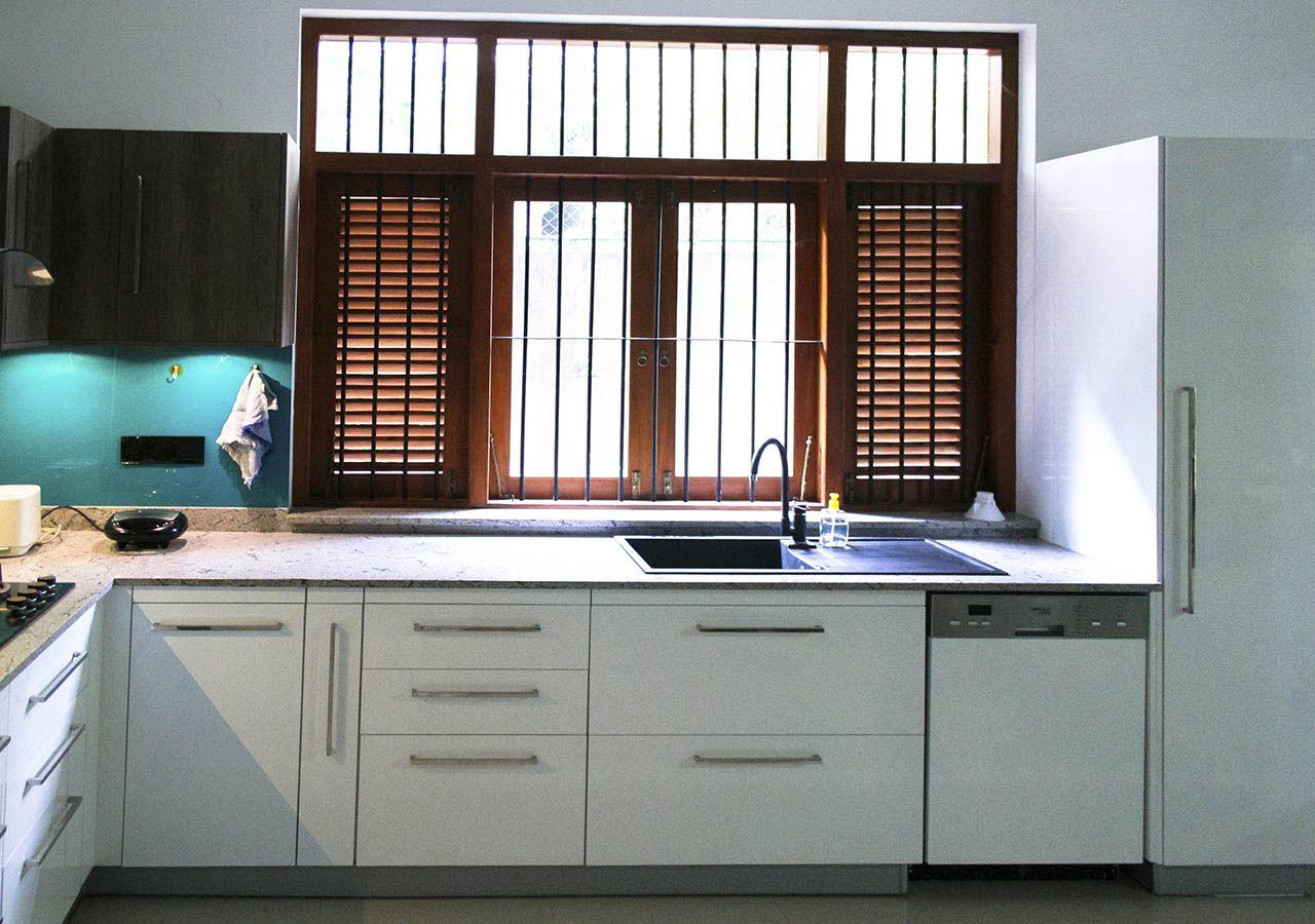 Hybrid Kitchen Small Kitchen Kitchen Designs Sri Lanka   Novocom.top
