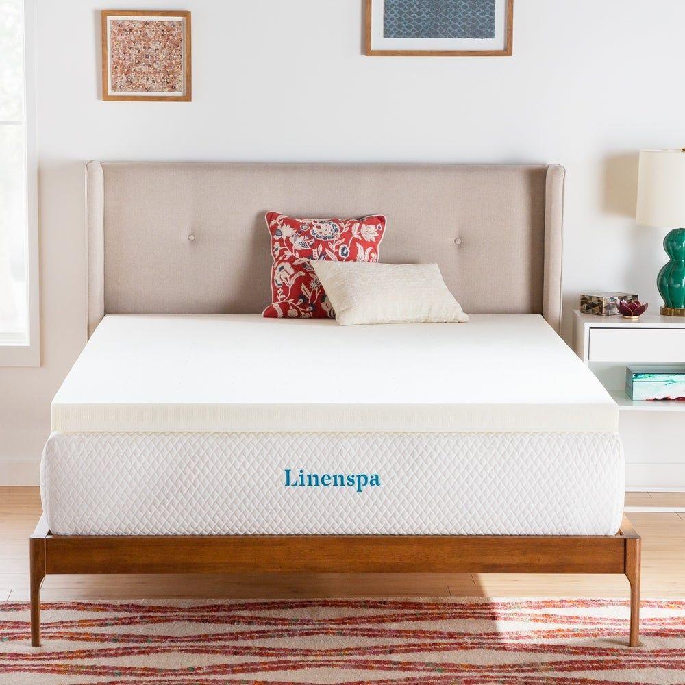 Linenspa Essentials 3 Inch Activerelief Memory Foam Mattress