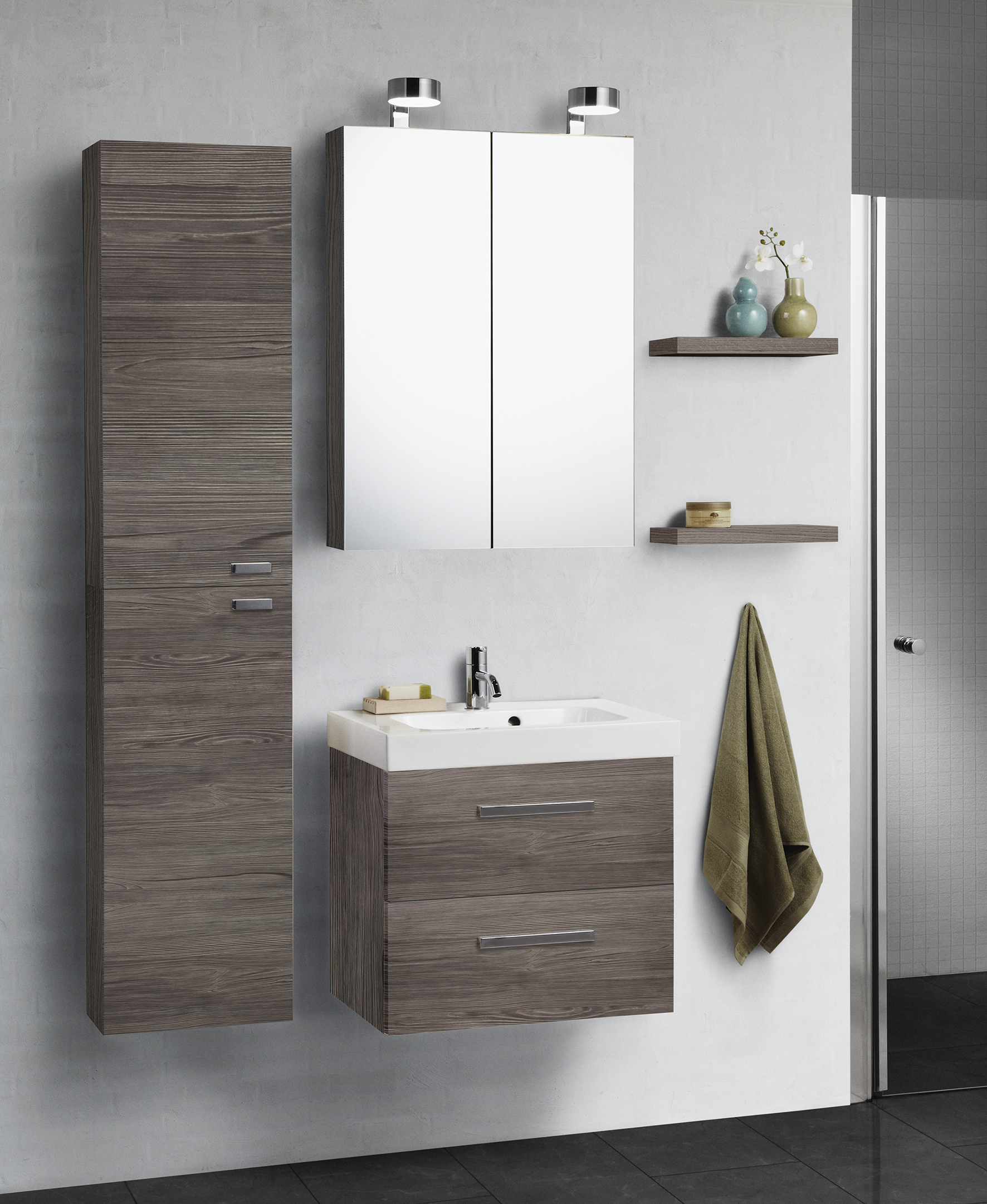 The Mini Menuet washbasin fits perfectly into small bathrooms ...