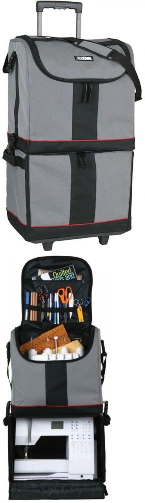 scrapbooking totes 146401 rolling art tote bag wheels supply storage bin crafts scrapbook. Black Bedroom Furniture Sets. Home Design Ideas