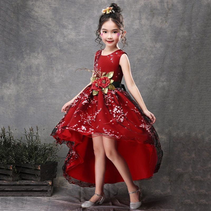 Clothes Floral Tulle Skirts Gowns Christmas baby Cute princess kid Skirt Toddler