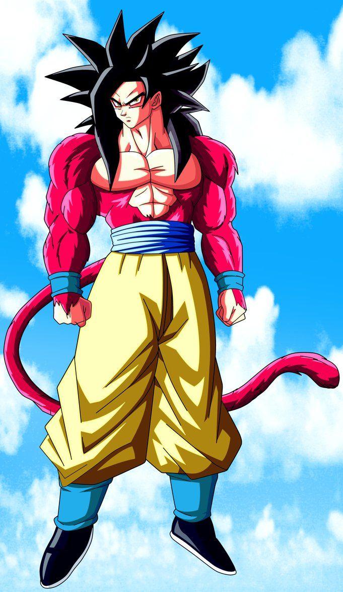 El Super Saiyajin 4 Dragon Ball Goku Dragon Ball Dragon Ball Art