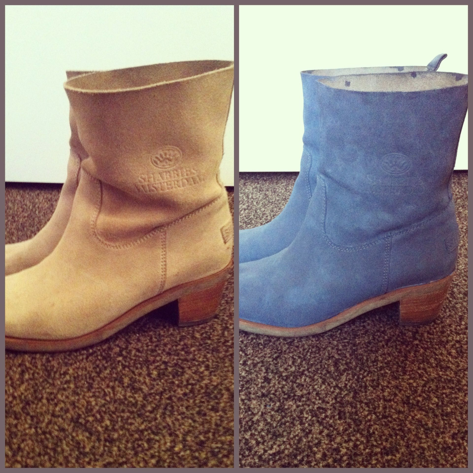 classic style amazon premium selection Dye suede boots, give old stuff a second life ;) | RIT DYE ...