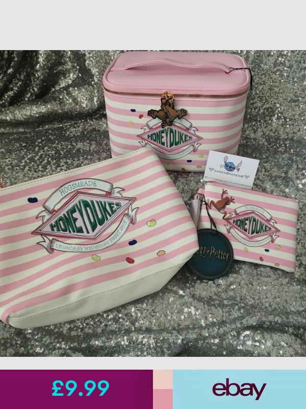 HARRY POTTER HONEYDUKES Make Up Toiletry Bag Purse Primark