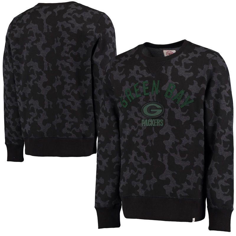 8755ac319 Washington Redskins Majestic Heritage Camo Tek Patch Pullover Hoodie - Black