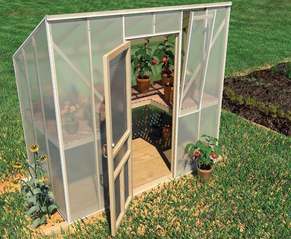 Kleinen Garten Gewachshaus Garten Pinterest Diy Greenhouse