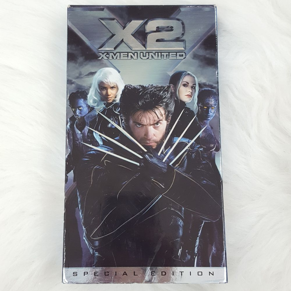 X2 X Men United Vhs 2003 Special Edition Hugh Jackman X Men Man United Vhs