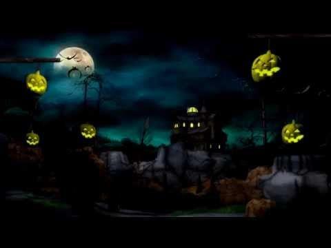 4k Halloween Background Animation 4k Video Youtube Video Background Motion Backgrounds Halloween Backgrounds