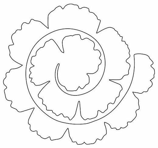 Flores de papel fcil de fazer com moldes para decorao to print flores de papel fcil de fazer com moldes para decorao toilet paper flowers 3d paper mightylinksfo