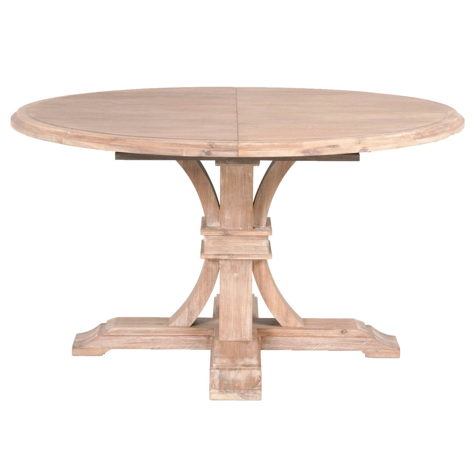 Devon 54 Round Extension Dining Table Round Extendable Dining