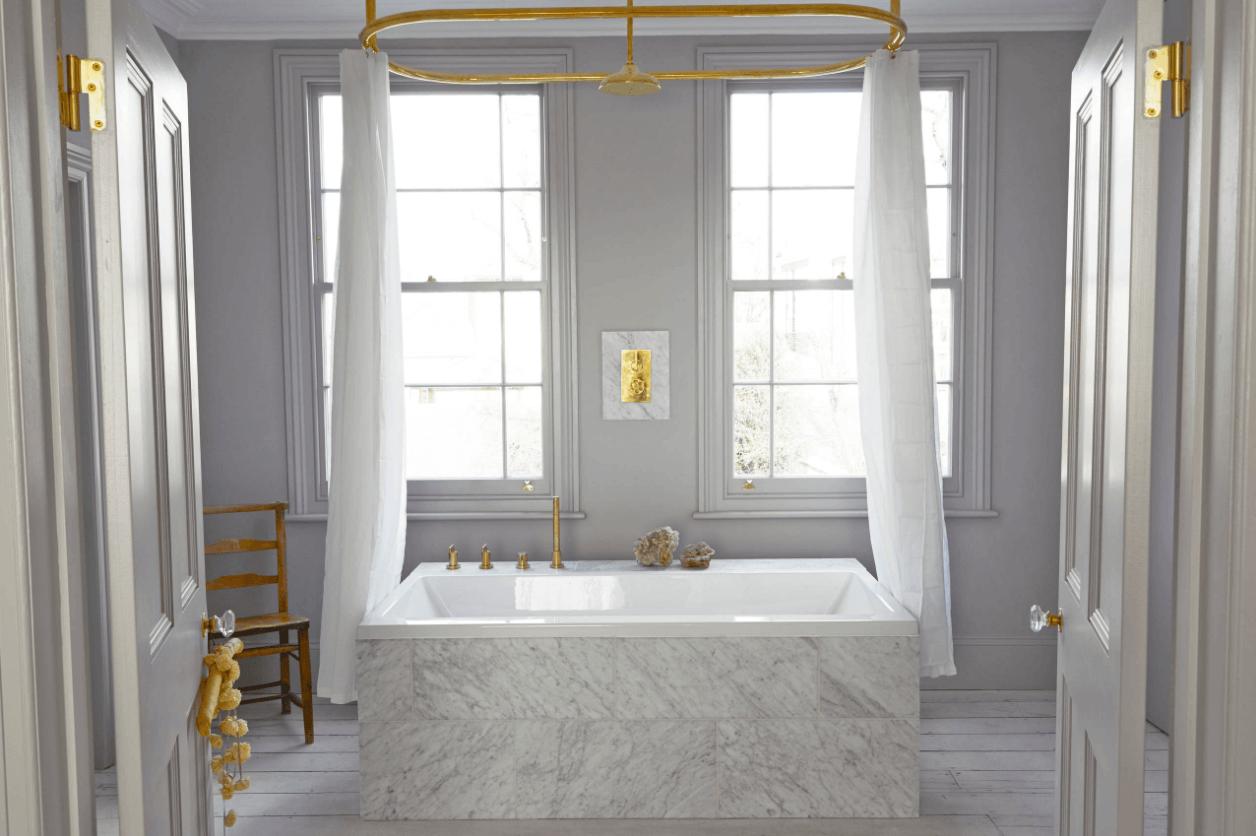 Photo of 4 Warm Metal Fixture Ideas to Brighten Up Your Bathroom – Wohnidee by WOONIO