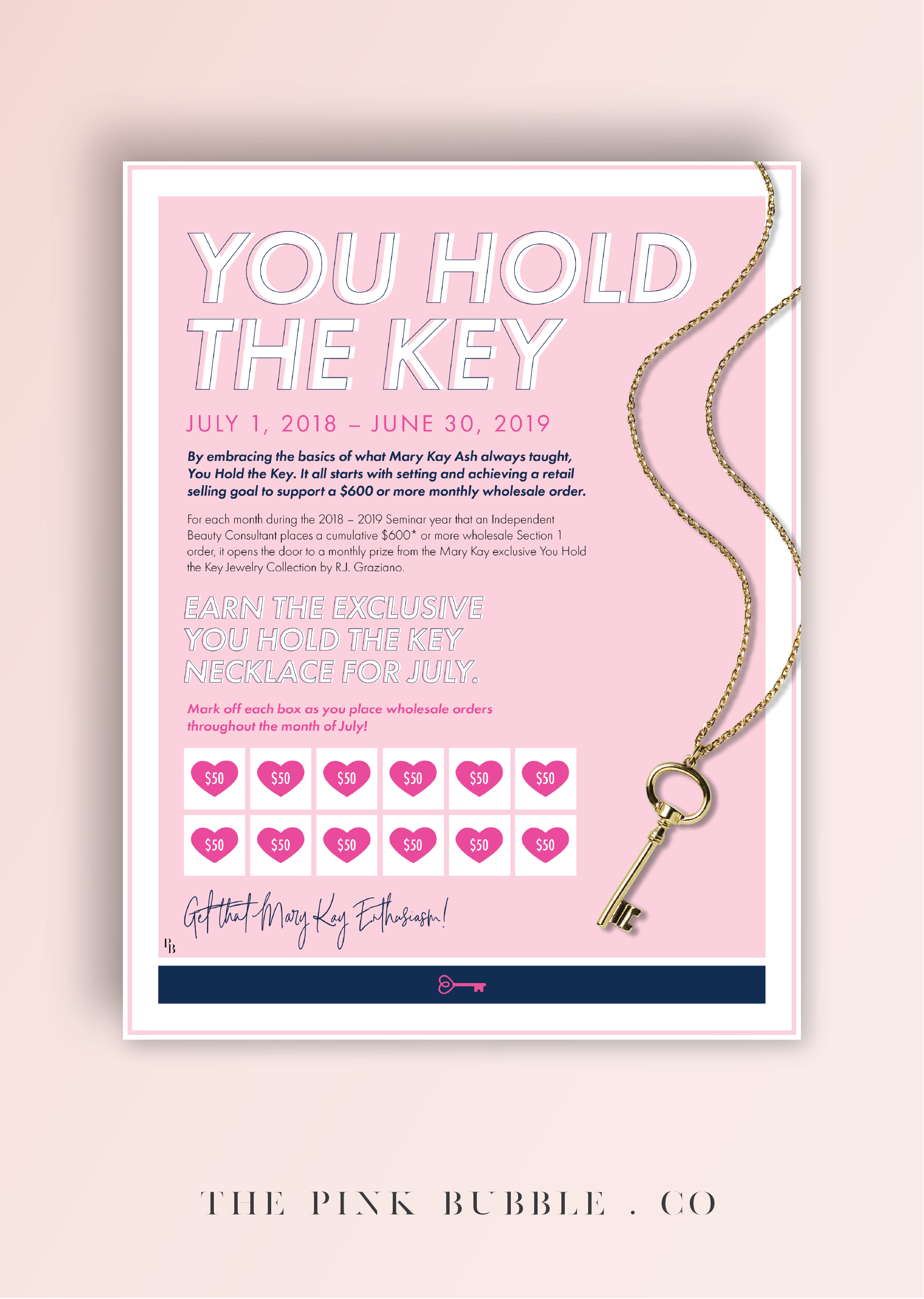 Mary Kay Sales Ideas For June 2019 Seminar Year End FREEBIE!! Mary Kay You Hold the Key Challenge Tracking Sheet! Find
