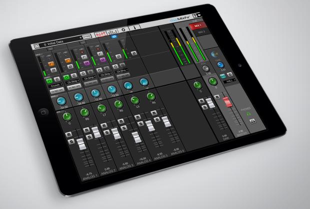 DSP mixer app adds to Steinberg UR audio