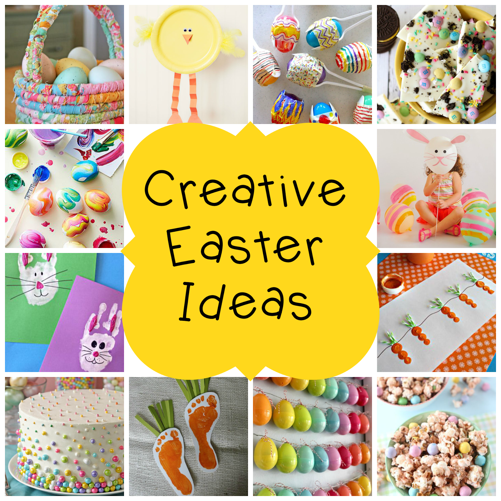 12 creative easter ideas kid crafts treats egg decorating 12 creative easter ideas kid crafts treats egg decorating inspiration and a diy negle Choice Image