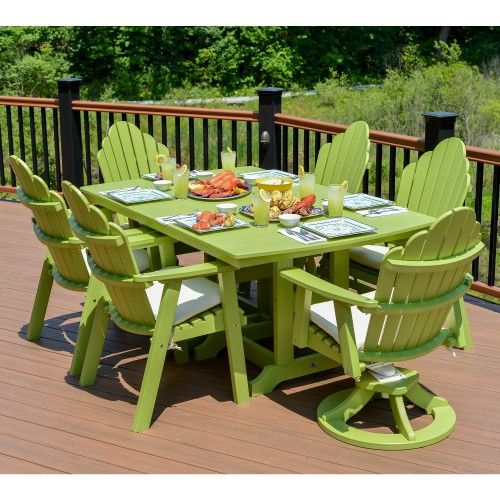 Berlin Gardens 7 Pc. Cozi Back Dining Set   Dining Features Some Of The