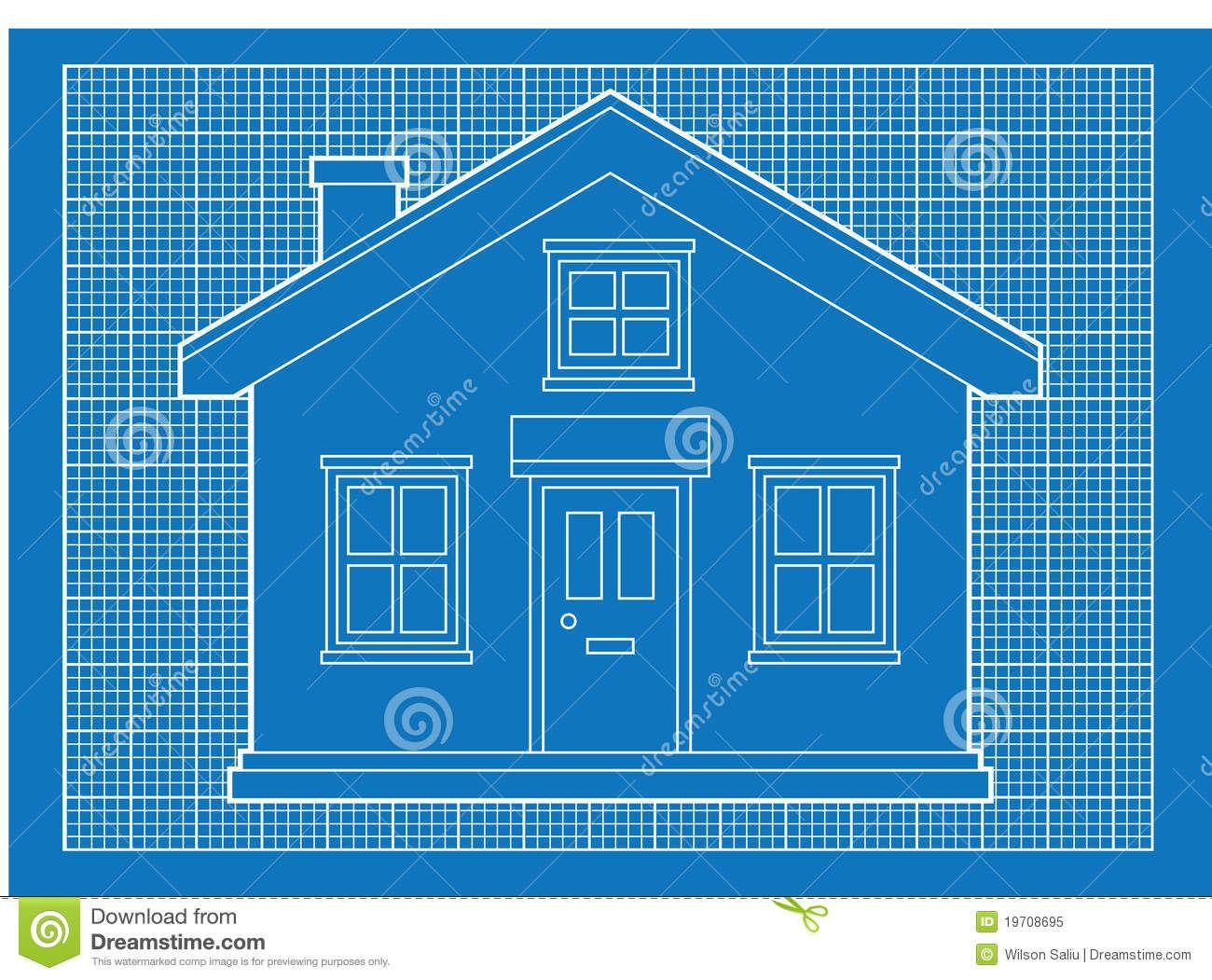 simple house blueprints royalty free stock photo image blueprint ...