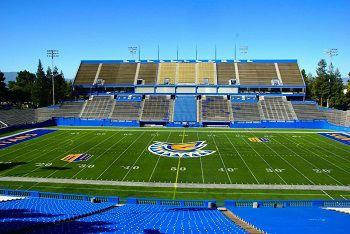 Pin By Jason Kendrick On San Jose San Jose State University San Jose State Stadium