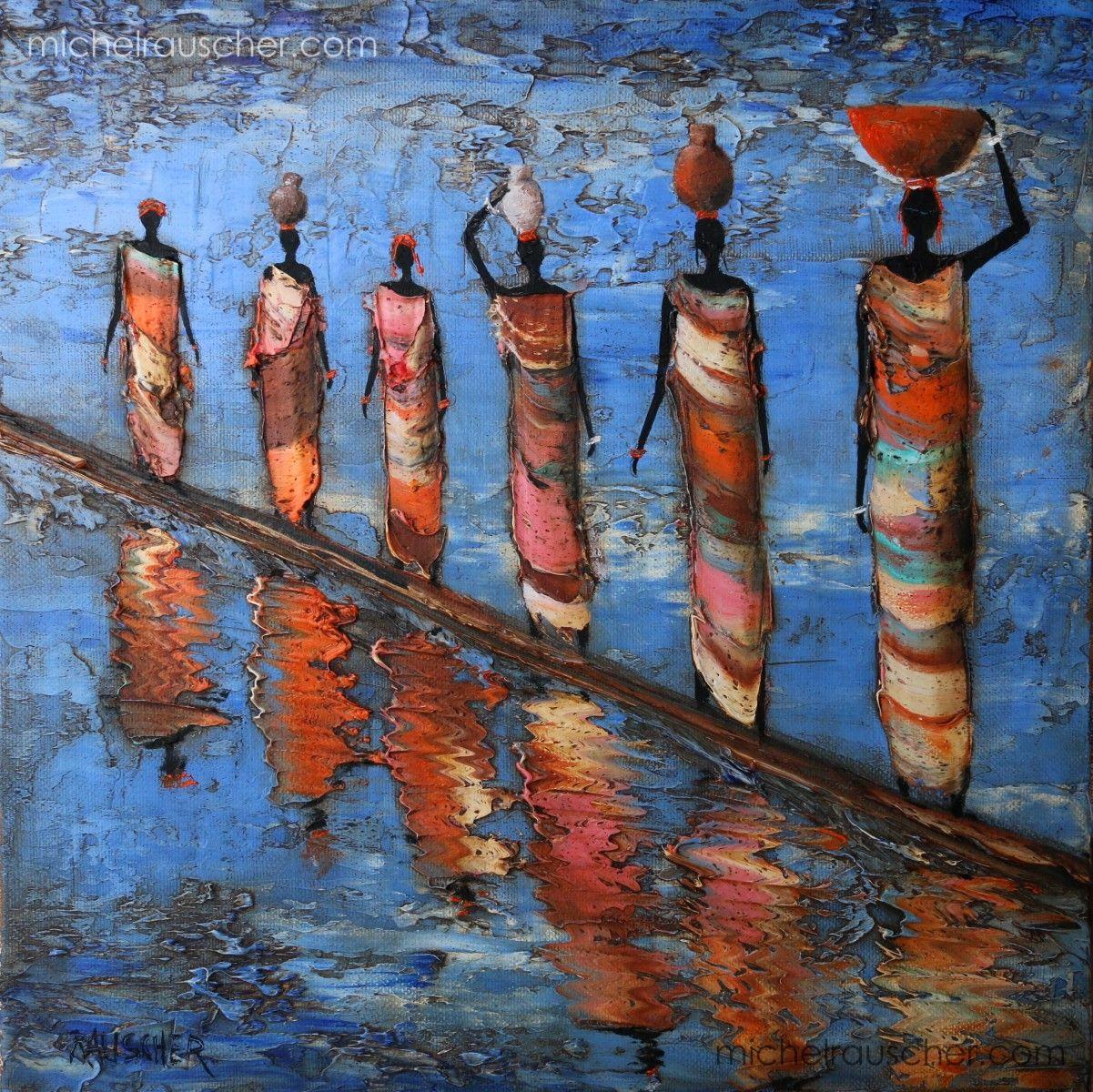 Michel RAUSCHER | Peintures - Huile sur toile - Sans titre-30x30 cm ...