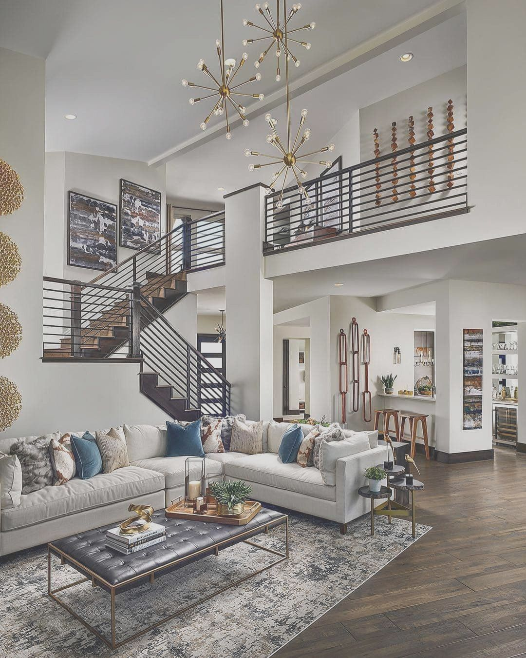 48 Stunning Modern House Design Interior Ideas Dekorasi Rumah Murah Desain Rumah Modern Dekorasi Ruang Tamu