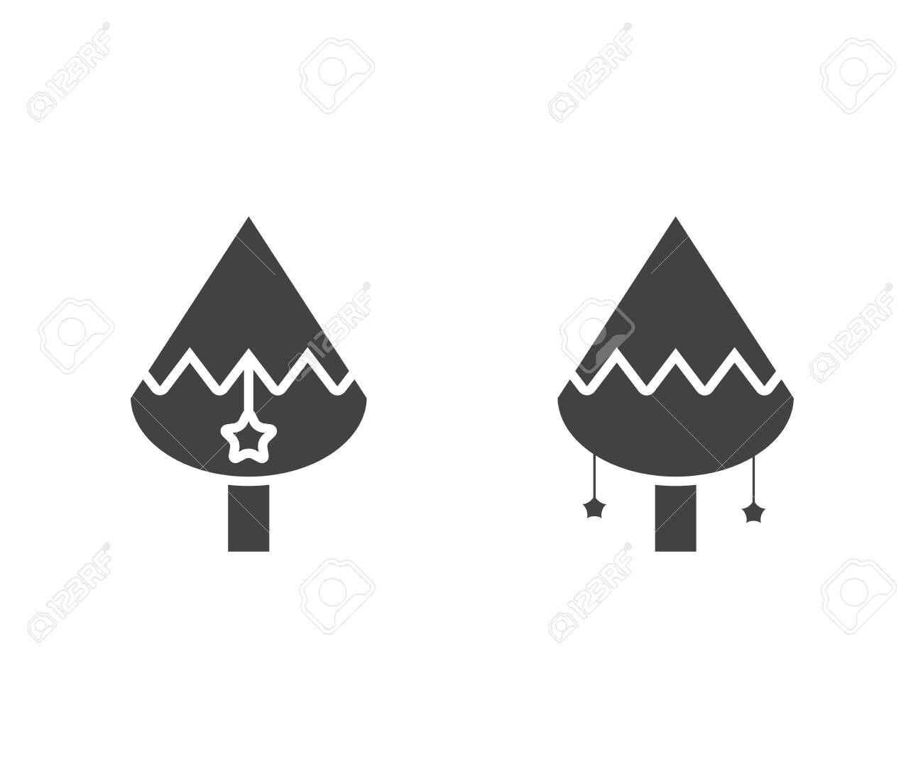 Christmas Tree Icons Affiliate Christmas Tree Icons Tree Icon Creative Business Flyer