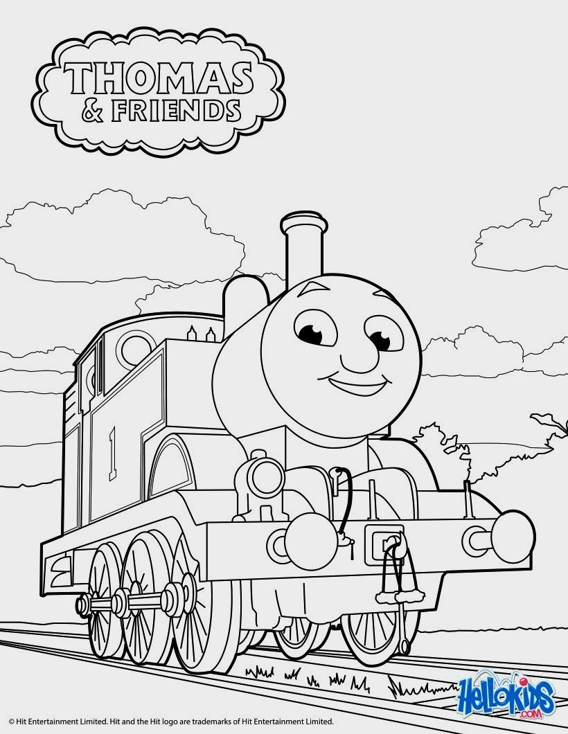Thomas Color Pages