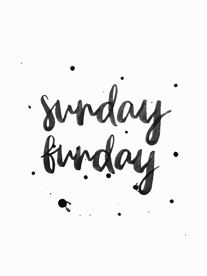 Sunday funday #quote ☆   SUNDAY in 2018   Pinterest   Weekend ...