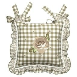 Cuscino #sedia rose Madame Coco greige ANGELICA Home & Country ...