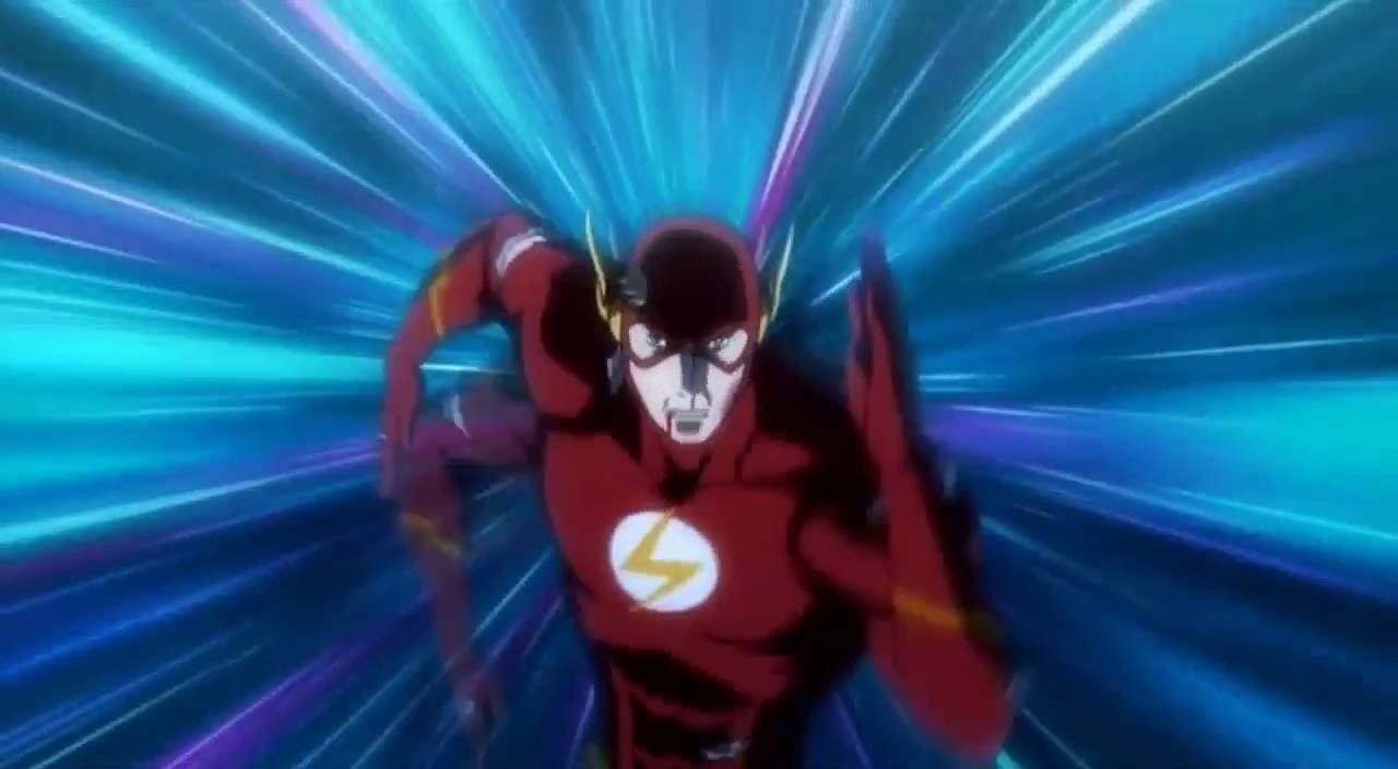 Justice League The Flashpoint Paradox Barry Allen Stops The Flashout Paradox By Travelling Back Flash Point Paradox Barry Allen Justice League
