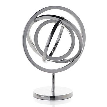 Armillary Sphere makes a handsome decorative accessory. $89.95 #ZGallerie