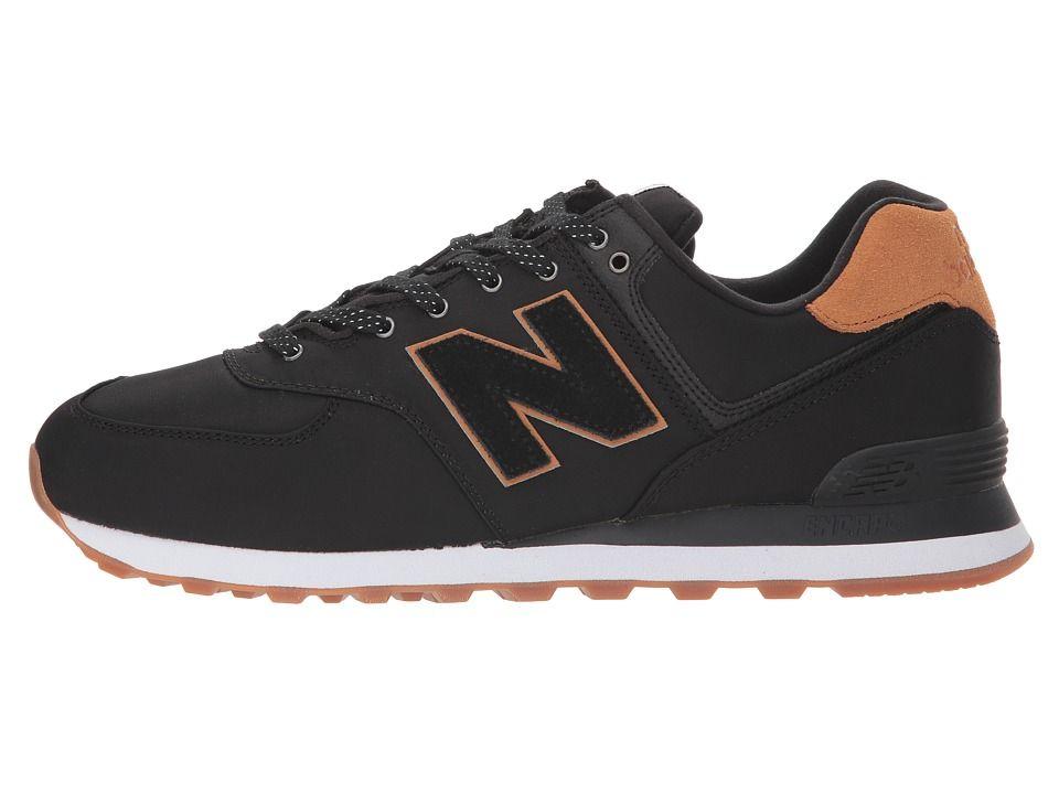 4309a30ccb51d New Balance Classics ML574v2 Men's Shoes Black/Brown Sugar ...