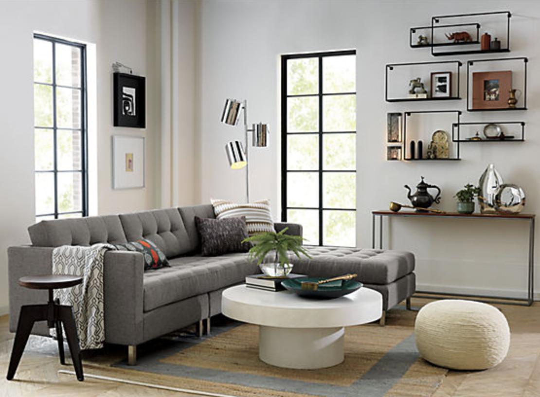 set of 3 floating shelves CB2 Home Decor Pinterest Shelves