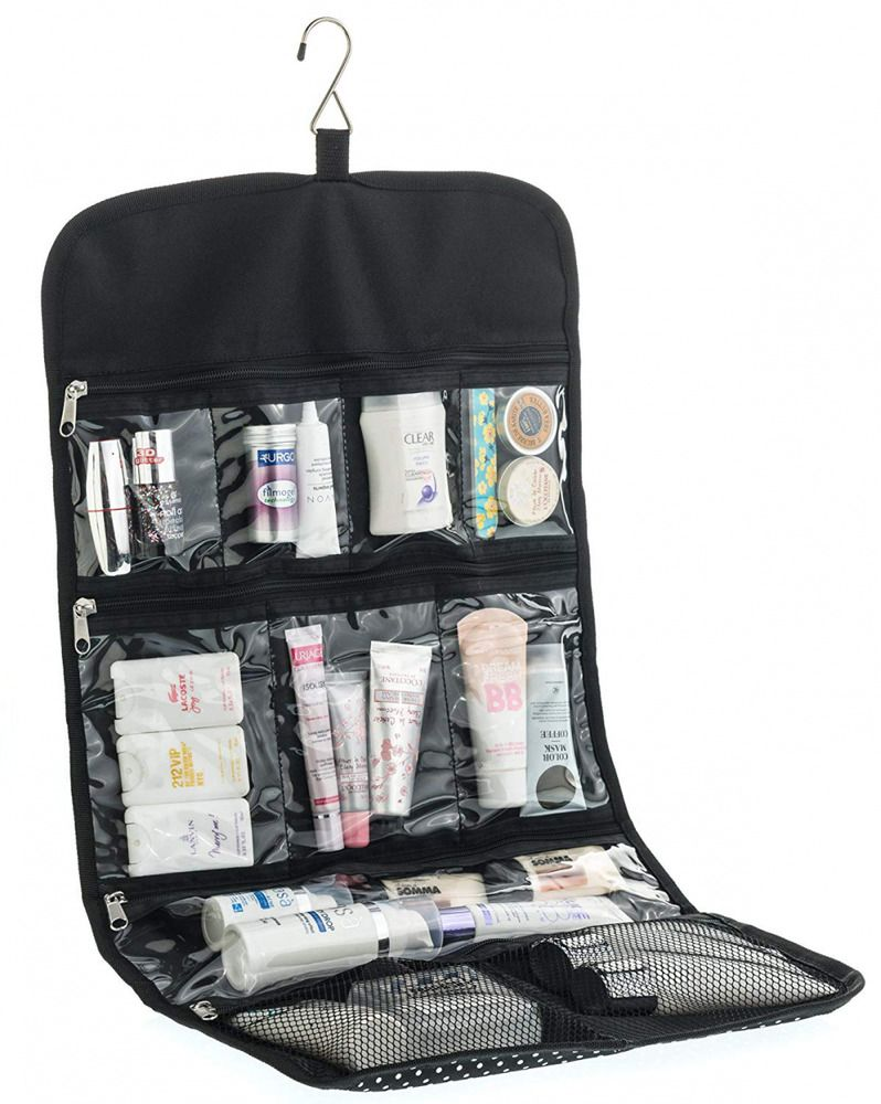 Women Travel Hanging Toiletry Bag Large Size for Cosmetics 90ceabb47f5c5