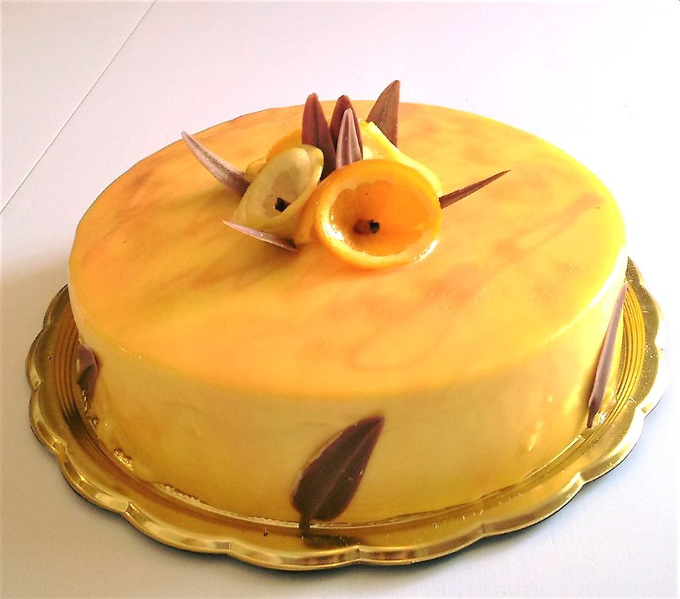 Torta Agrumi in fiore: Pan di spagna con bagna al limoncello ...