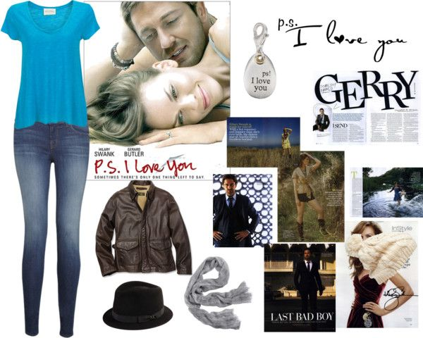 """""""P.S.I Love you"""" by thinkpinkxo ❤ liked on Polyvore"""