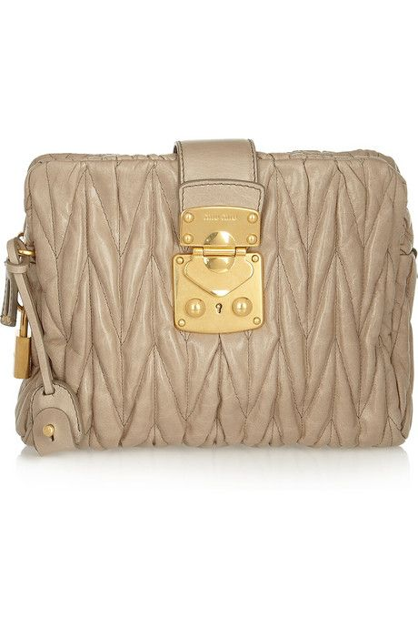 ad284f3f067 Miu Miu s leather is unmatchable. One day this will be mine ...