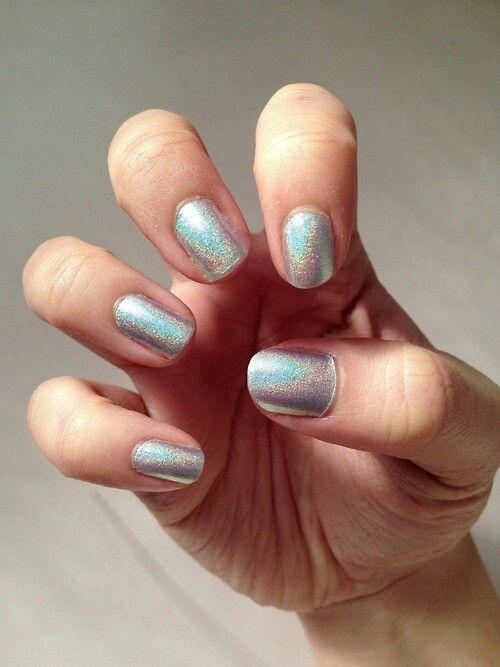 Love the nail polish color!