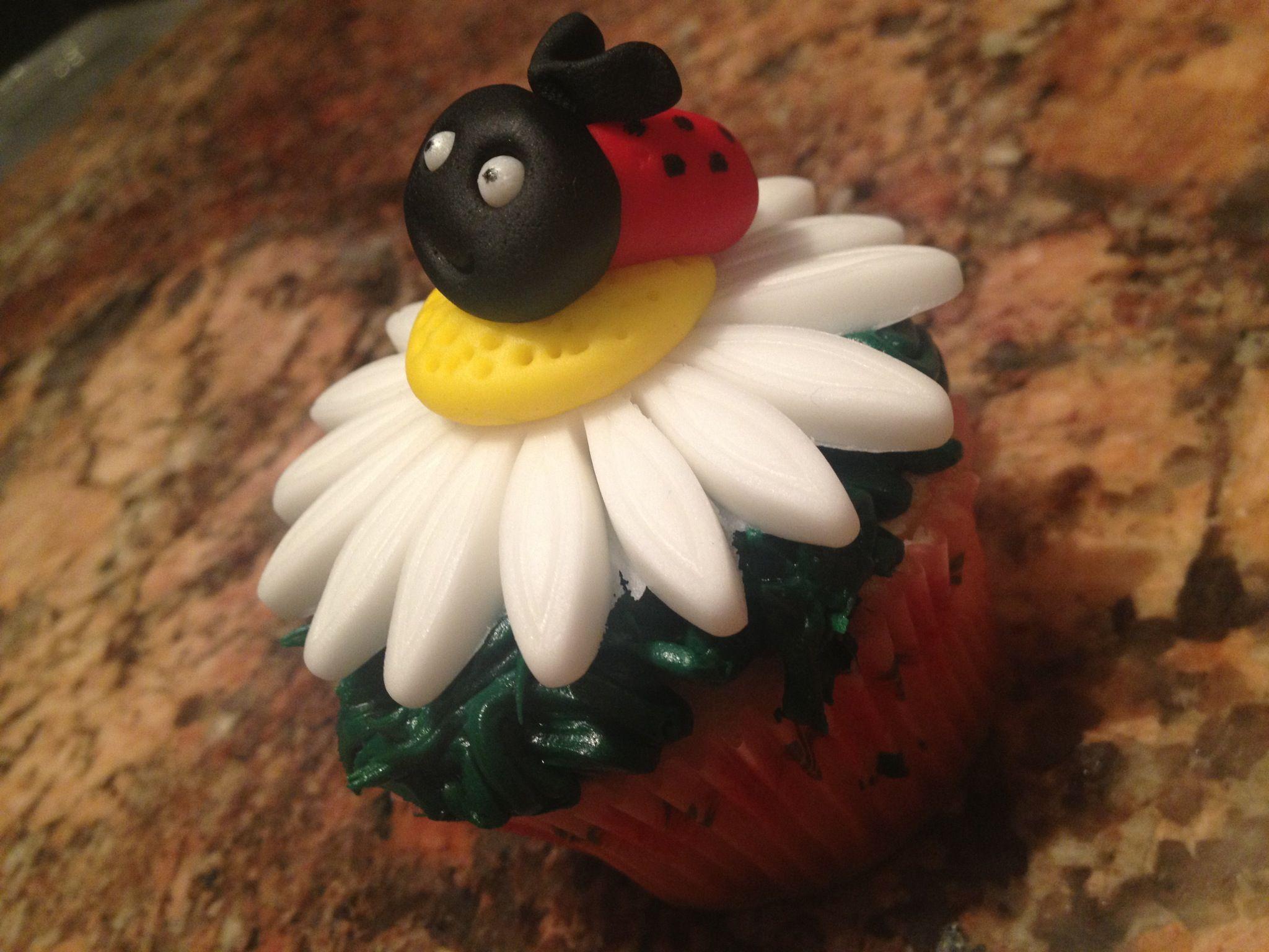 Lady big cupcake from cupcake 101 class!
