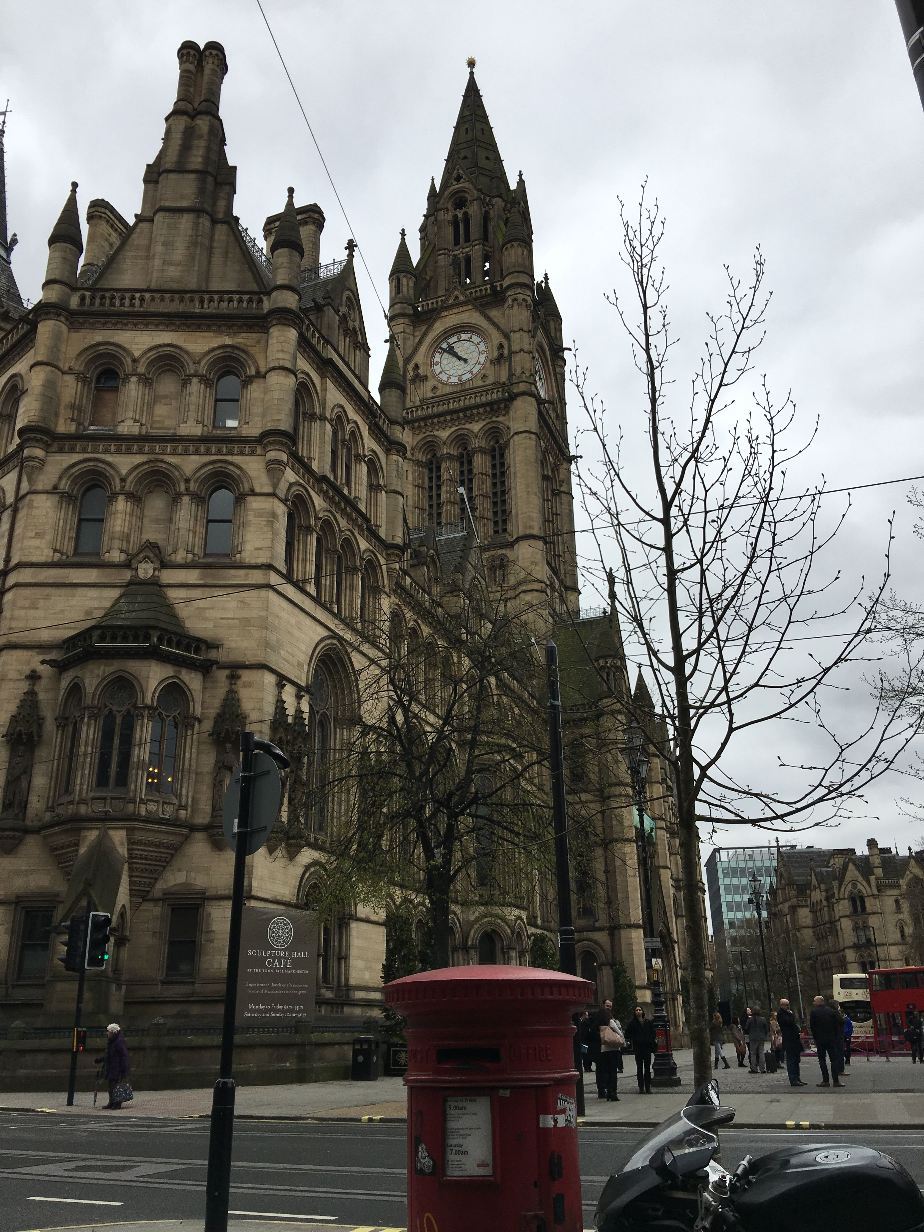 The Town Hall Albert Square Barcelona Cathedral Salford Town Hall