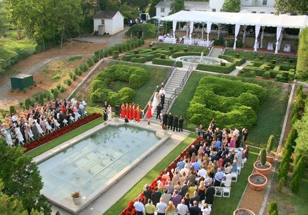 Crescent Bend House And Gardens Weddings