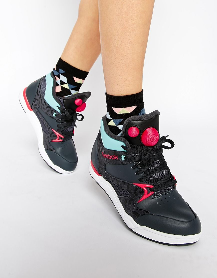 reebok pump trainer women