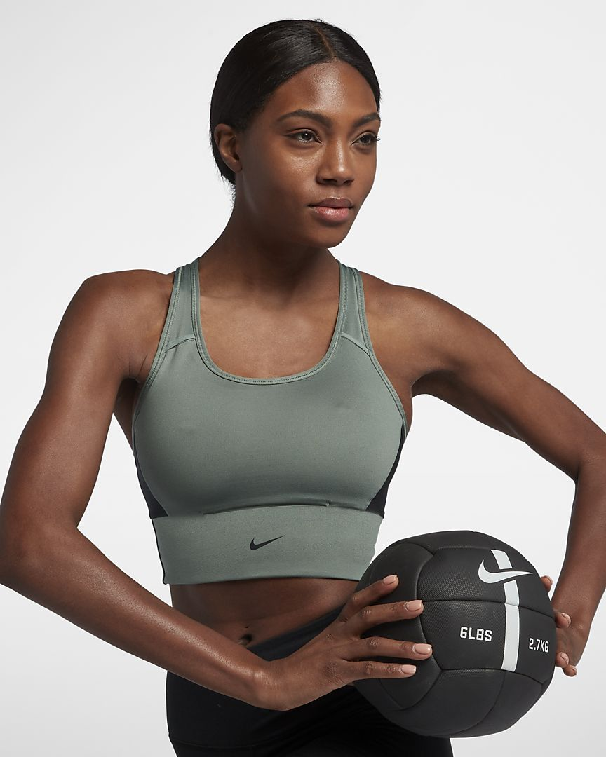 Nike Swoosh Pocket Women's Sports Bra Medium support