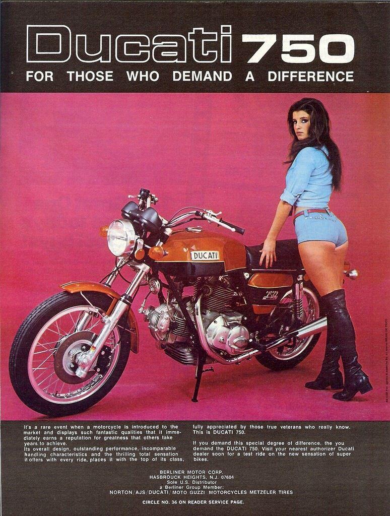 Vintage Ducati Poster 11