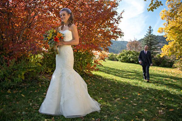 Real Colorado Wedding Alvina Valenta Dress Anna Be Denver