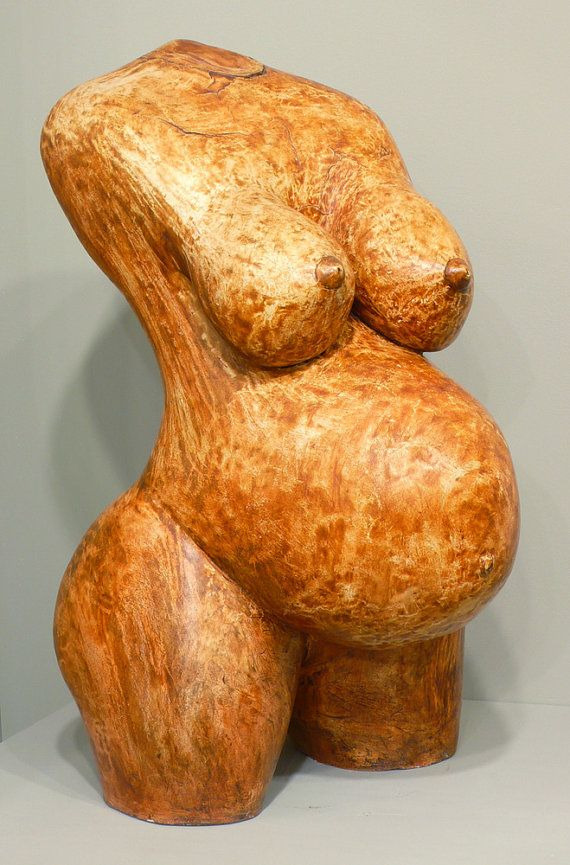 from Dennis pregnant nude in sculpture