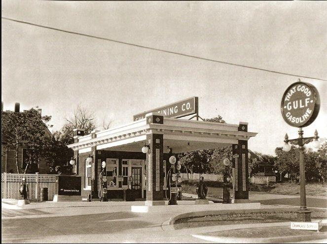 1940 Colorado City Texas Old Gas Stations Colorado City Gas Station
