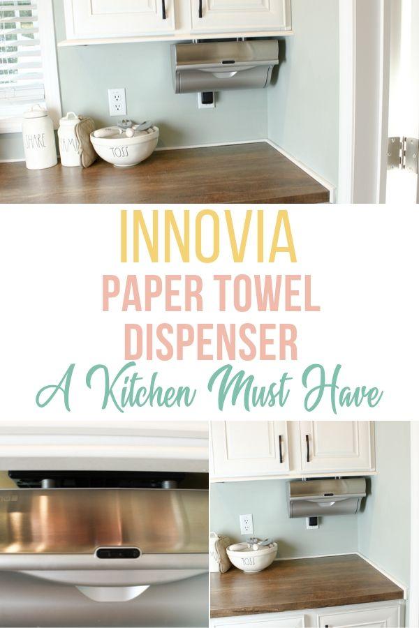 Innovia Wb2 159s Automatic Paper Towel Dispenser Silver Paper